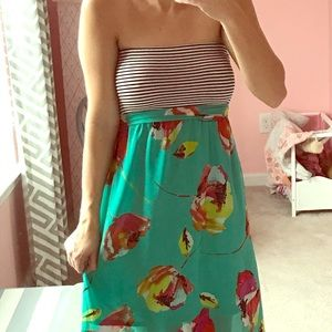 Maxi Dress with Bow-back
